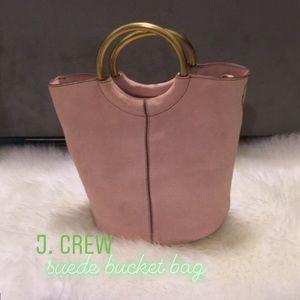J. Crew Suede Bucket Bag